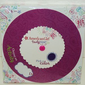 American Girl Truly Me Pick Color Choose Activity